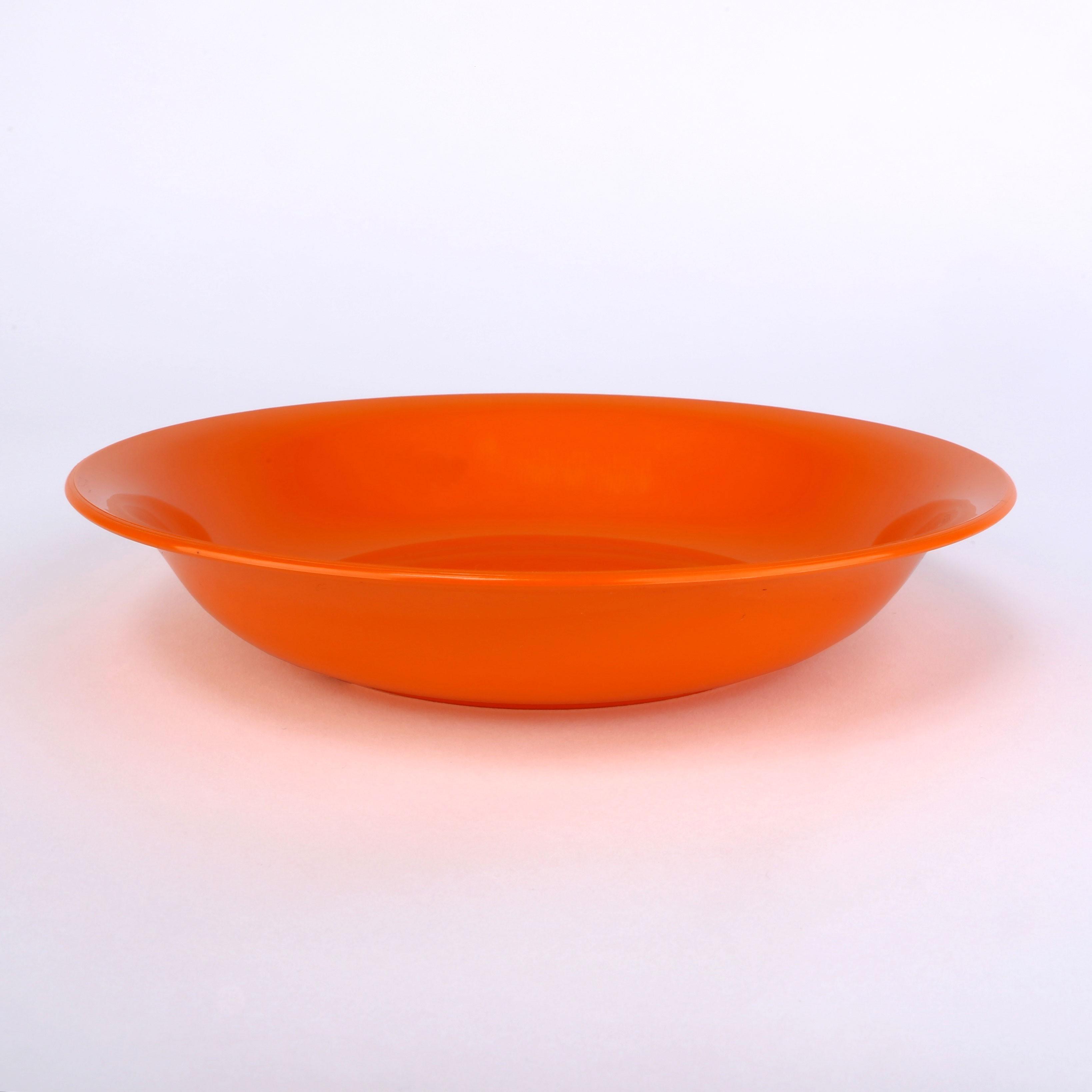 Suppenteller, tief, 20,5cm, fruchtorange