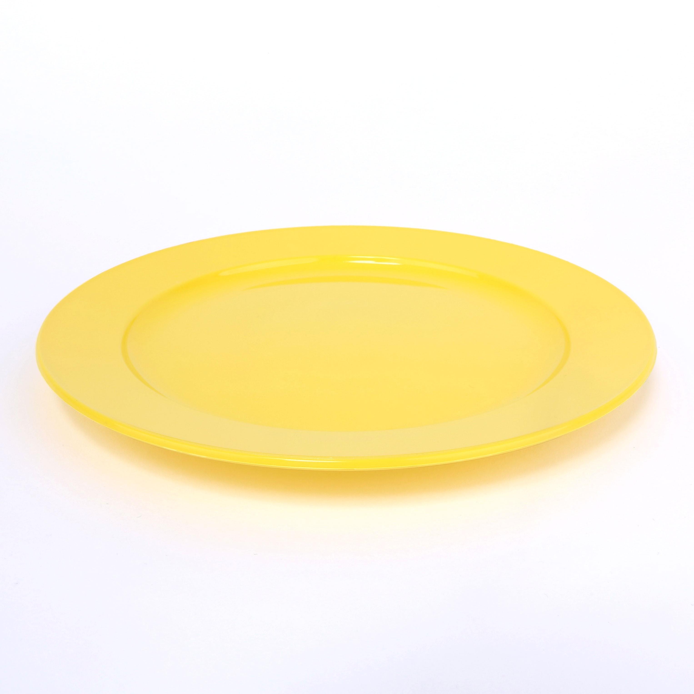 Frühstücksteller, flach 20cm sonnengelb