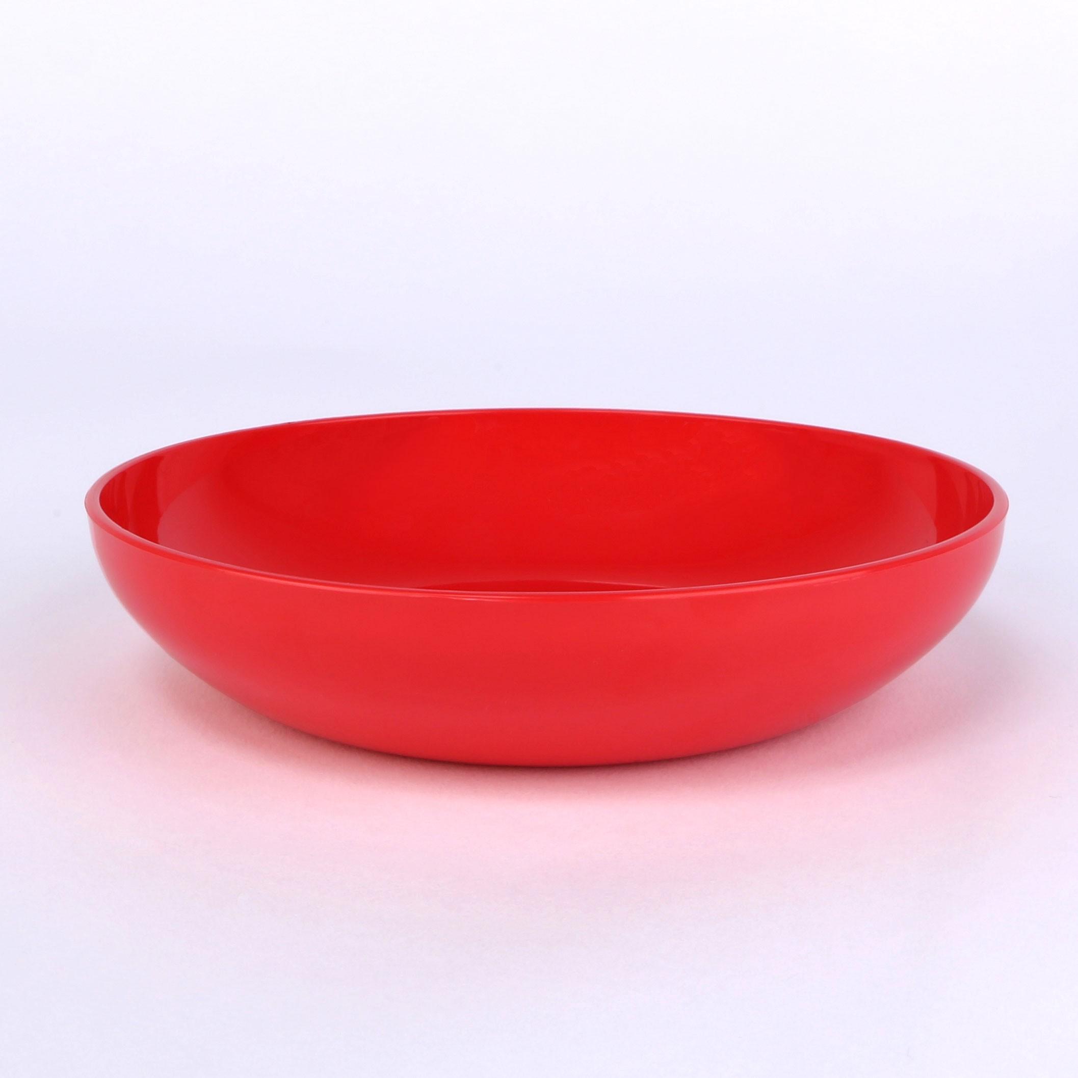 Dessert-Schale 13,5cm erdbeerrot