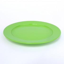 Frühstücksteller, flach, 20cm, grasgrün