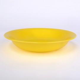Suppenteller, tief 20,5cm sonnengelb