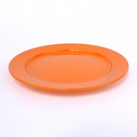 Frühstücksteller, flach, 20cm, fruchtorange
