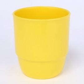 Trinkbecher 0,25 l sonnengelb