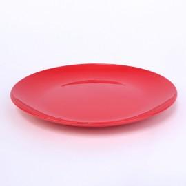 Dessert-Teller 19 cm erdbeerrot
