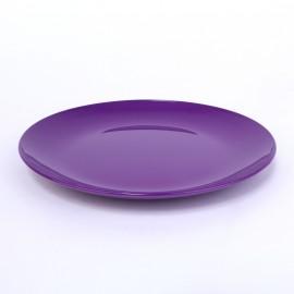Dessert-Teller 19 cm blumenlila