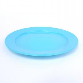 Frühstücksteller flach 20cm himmelblau